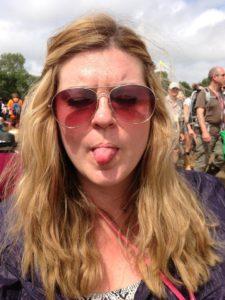 festival selfie