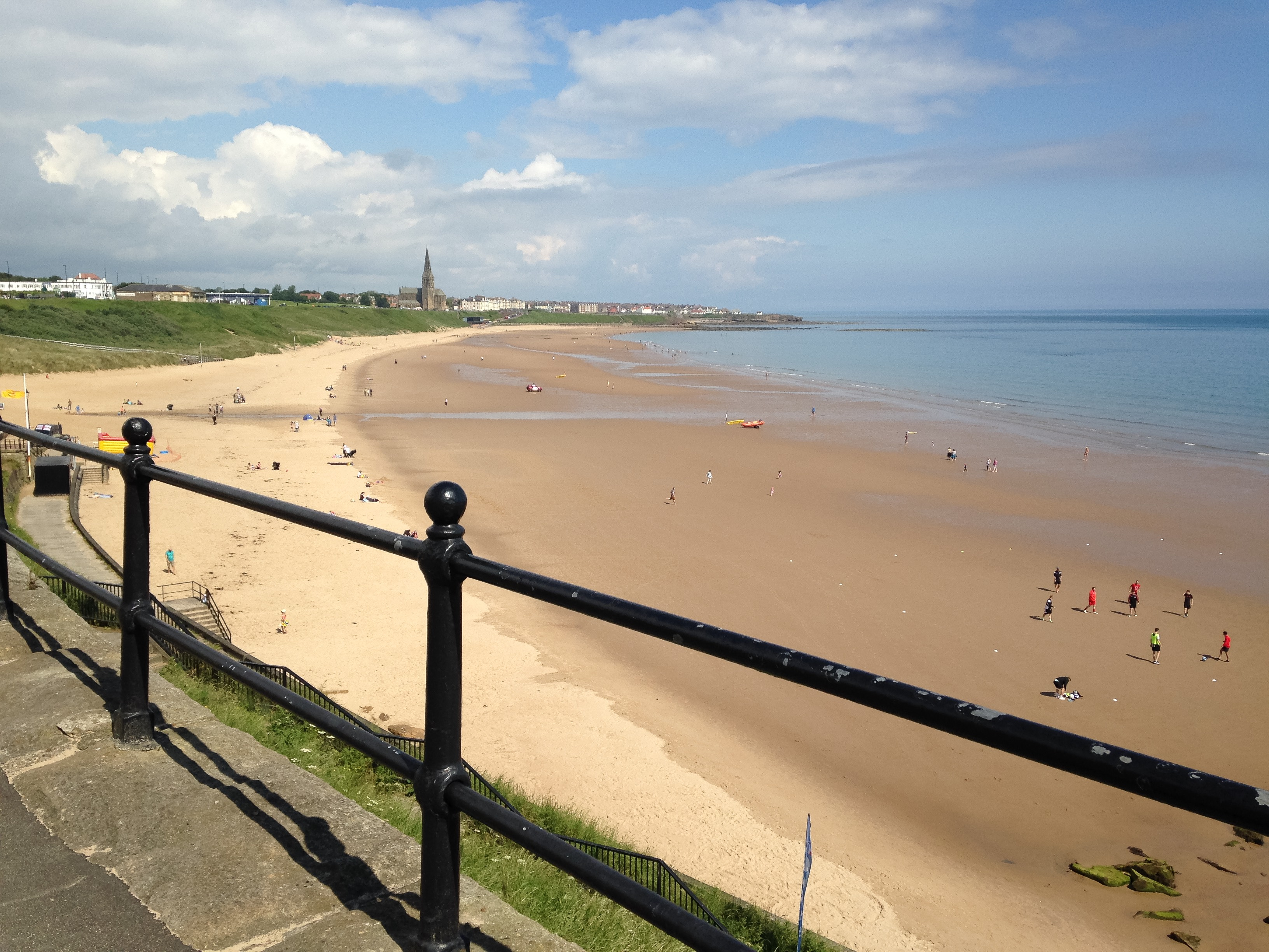 Longsands Beach Tynemouth