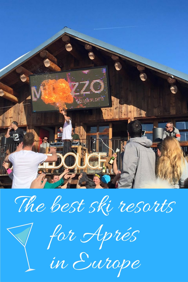 best ski resorts for aprés