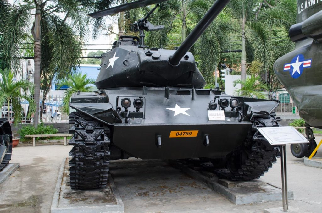Saigon war museum