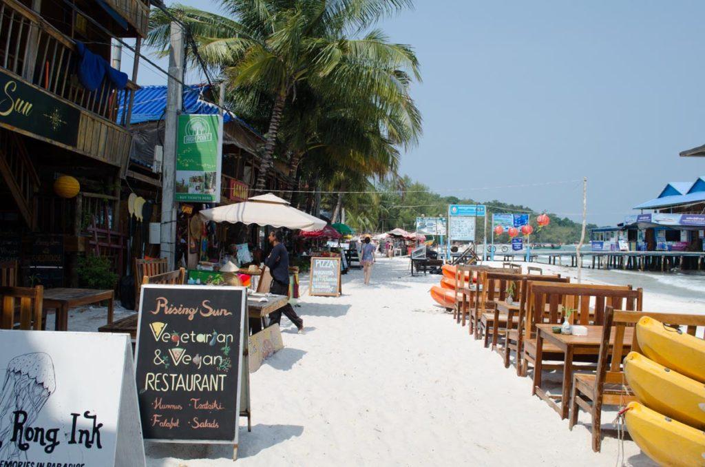 Koh Rong cambodia beach