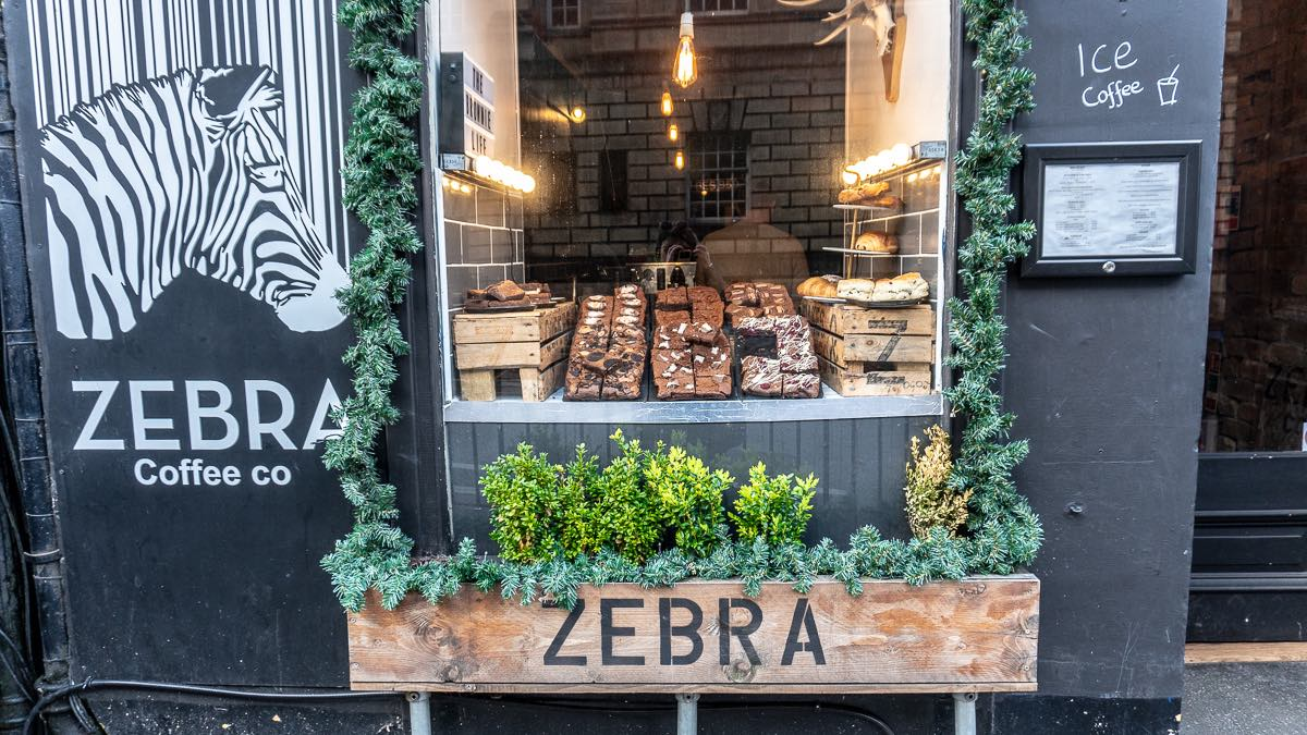 Zebra Cafe Edinburgh