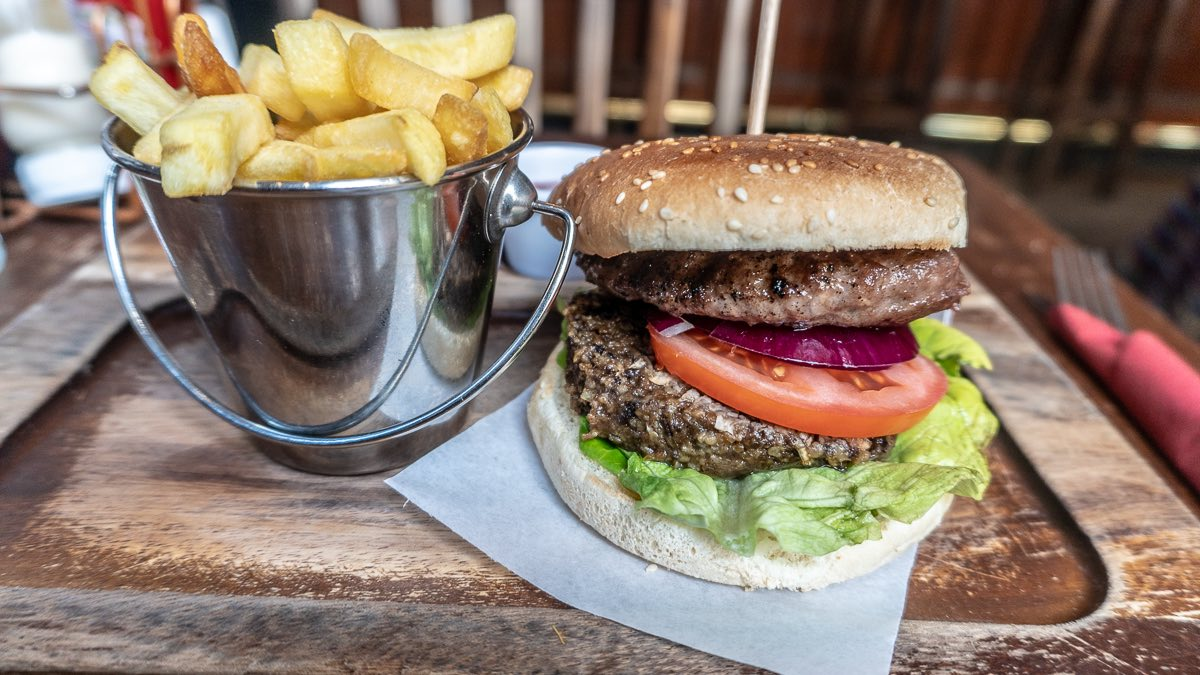 pub food Edinburgh