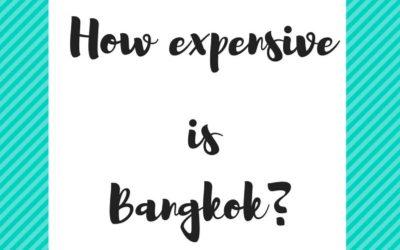 How expensive is Bangkok?