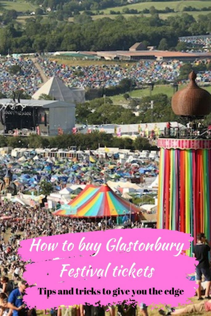 buy Glastonbury Festival tickets