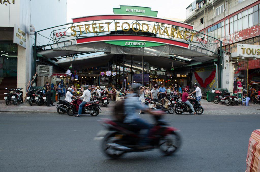 Ben Tanh market Saigon