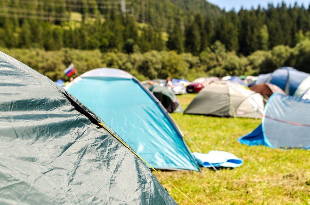Lindisfarne Festival camping