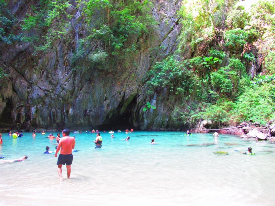Emerald cave Koh Lanta