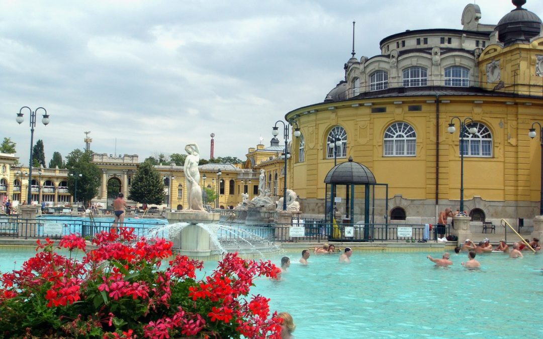 Visiting the most amazing thermal spa in Budapest
